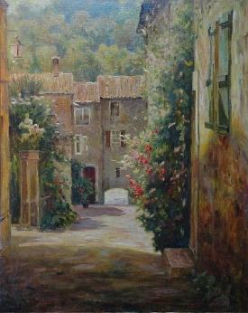 St. Tropez - Limited Edition Giclee Print by Leonard Wren |Leonard Wren Paintings